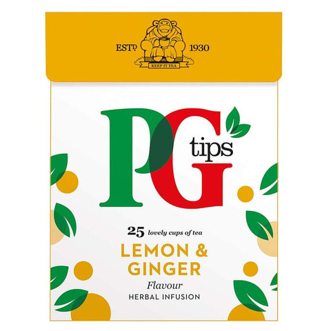 Pyramid Infusion Lemon Ginger Pg Tips 4X50G Tea