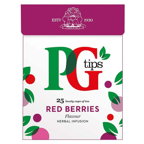Pyramid Infusion Red Berries Pg Tips 4X47.5G Tea