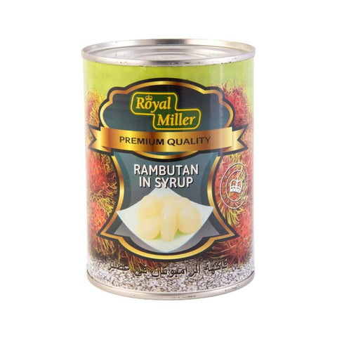 Rambutan In Syrup Royal Miller (24X567G) Canned Fruits