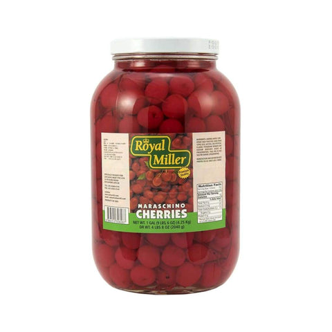 Red Cherry With Stem Royal Miller (4X1Gal) Canned Fruits