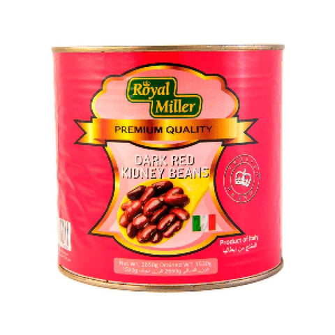 Red Kidney Bean Royal Miller 6X2.65Kg Canned Vegetable