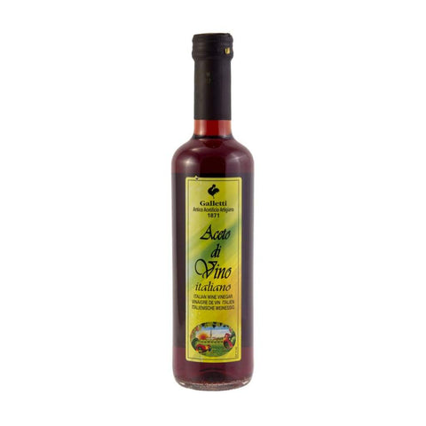 Red Wine Vinegar -Galletti 12X500Ml & Cooking