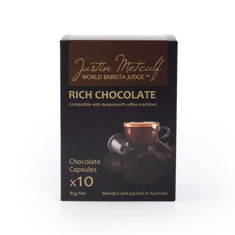 Rich Chocolate - Justin Metcalf 24X10S Choco & Nutritional Drinks