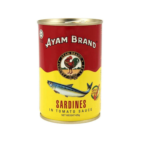 Sardines In Tomato Sauce - Ayam 24X425G Canned Meat/seafood