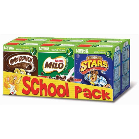 School Pack -Nestle 20X140G Cereal
