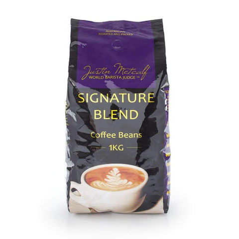 Signature Blend Coffee Beans - Justin Metcalf 1Kg
