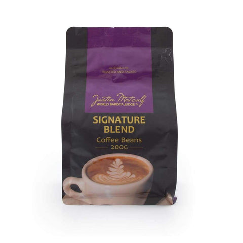Signature Blend Coffee Beans - Justin Metcalf 200G