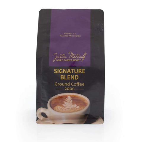 Signature Blend Ground Coffee - Justin Metcalf 200G