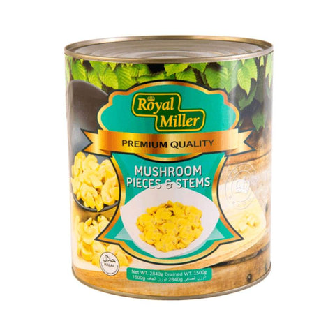 Slice Mushroom (P&s) Royal Miller 2840G Canned