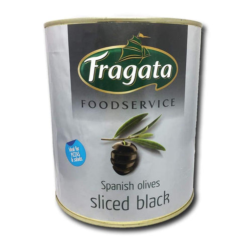 Sliced Black Olive Fragata 3Kg Pickles