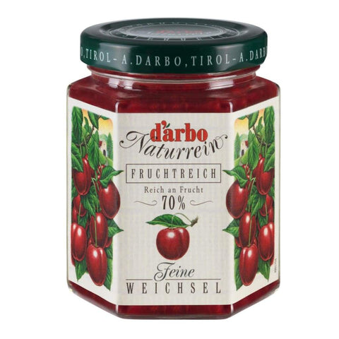 Sour Cherry Double Fruit Spread Darbo 200G Jam