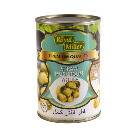 Straw Mushroom Royal Miller 425G Canned
