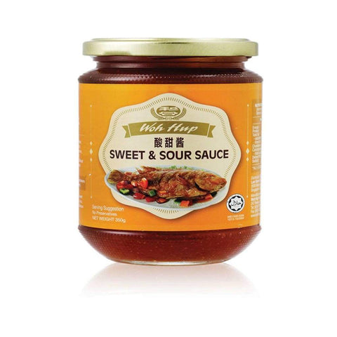 Sweet & Sour Sauce 350G Woh Hup