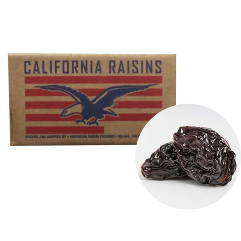Thompson Black Raisins American Raisin Johnnysons 25Lbs Dried Foods
