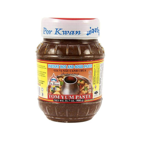 Tom Yam Paste - Por Kwan 12X900Gm Sauce