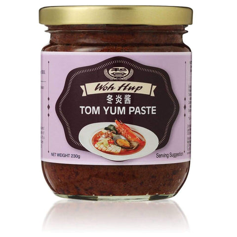 Tom Yum Paste (Hot And Sour) 230G Woh Hup Sauce