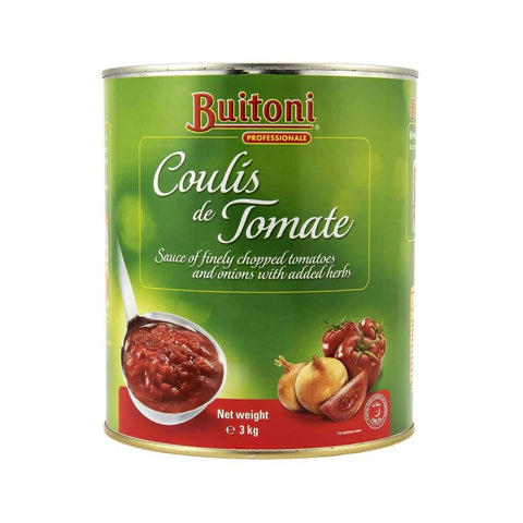 Tomato Coulis Buitoni - Nestle 6X3Kg Canned Vegetable