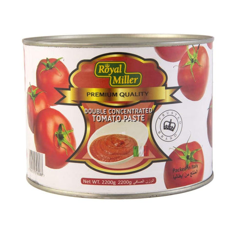 Tomato Paste Royal Miller 2.2Kg Canned Vegetable