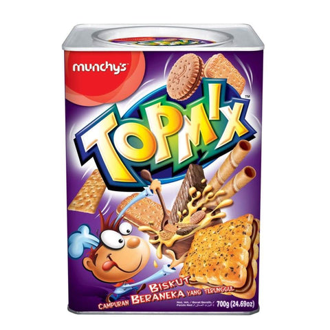 Topmix Assorted Biscuit 6X700G Munchys Biscuits