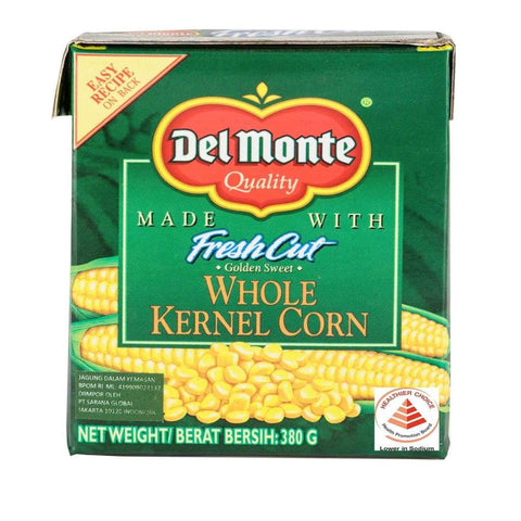 Trc Whole Kernel Corn 24 X 380G Del Monte Canned Vegetable