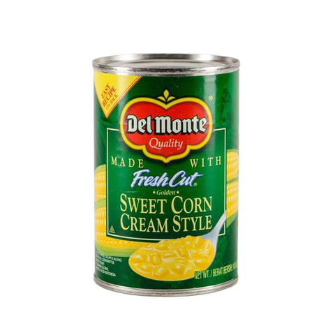 Us Cream Style Corn 24X418G(14.75Oz) Del Monte Canned Vegetable