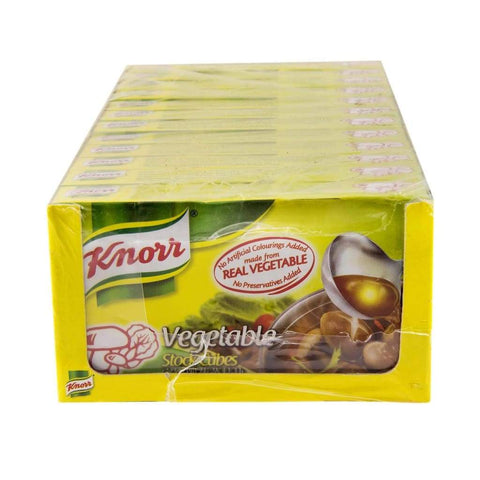 Vegetables Cubes - Knorr 12Sx60G Salt/seasoning