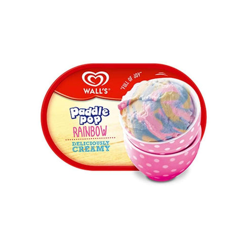 Wall Tub Rainbow Ice Cream 4X1500Ml