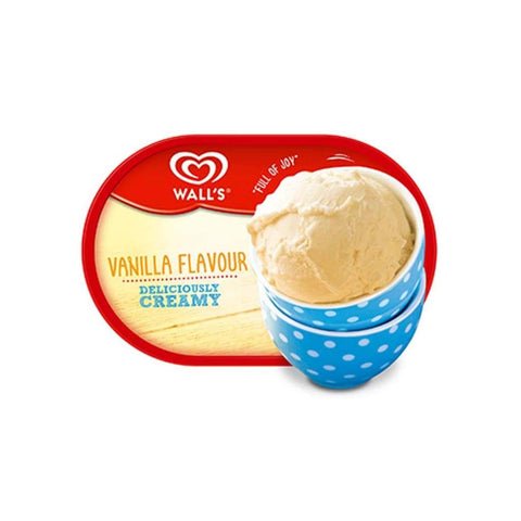 Walls Tub Vanilla Ice Cream 4X1500Ml