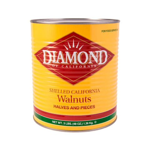 Walnut Shelled Diamond 1.36Kg Dried Foods