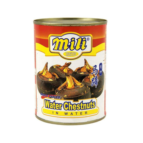 Water Chestnut -Mili 24X567G Canned Vegetable