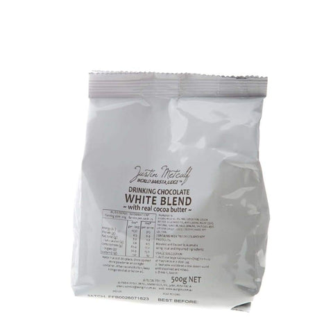 White Chocolate Powder - Justin Metcalf 500G Choco & Nutritional Drinks