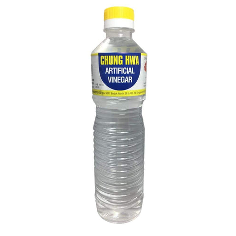 White Vinegar - Chung Hwa 12X640Ml & Cooking Wine