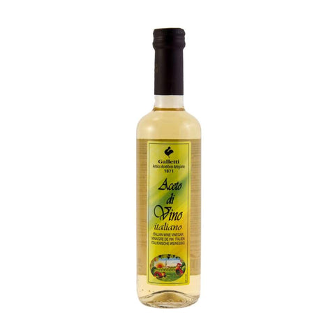 White Wine Vinegar - Galletti 12X500Ml & Cooking