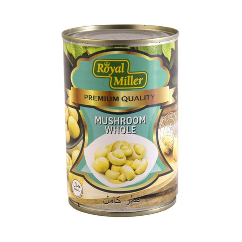 Whole Mushroom Royal Miller 425G Canned