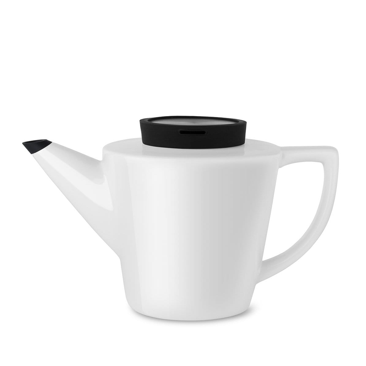 Infusion™ Porcelain Teapot-VIVA Scandinavia | Color=black