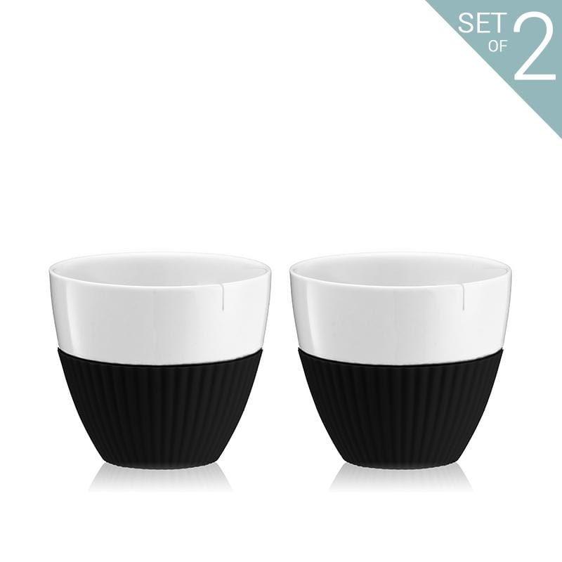 Anytime™ Tea Cups - Set Of 2-VIVA Scandinavia | Color=black