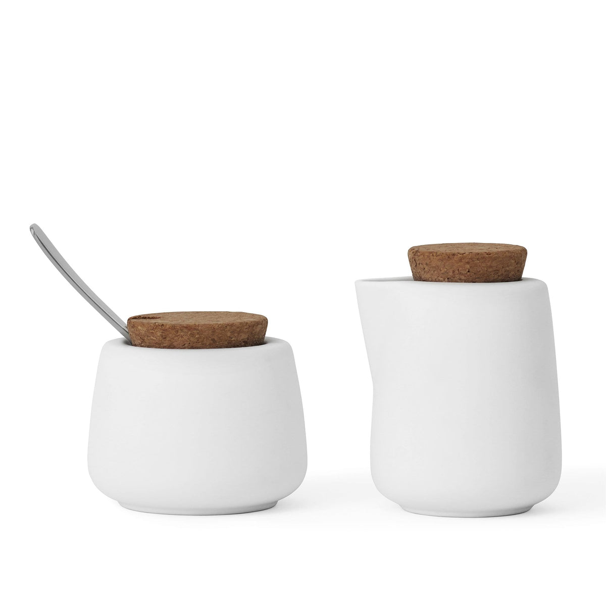 Nicola™ Milk and Sugar Set (Pure white)-VIVA Scandinavia
