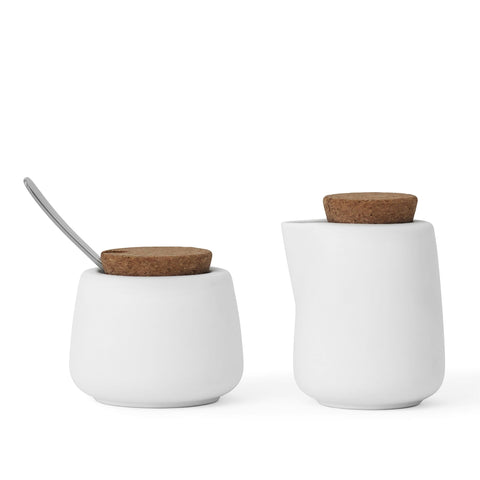Nicola™ Sugar and Milk Set (Pure white)