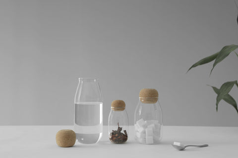 Cortica™ Glass Jar Small-VIVA Scandinavia