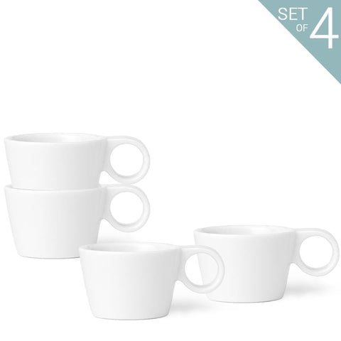 Jaimi™  Small Tea Cup 0.08 L (set of 4)