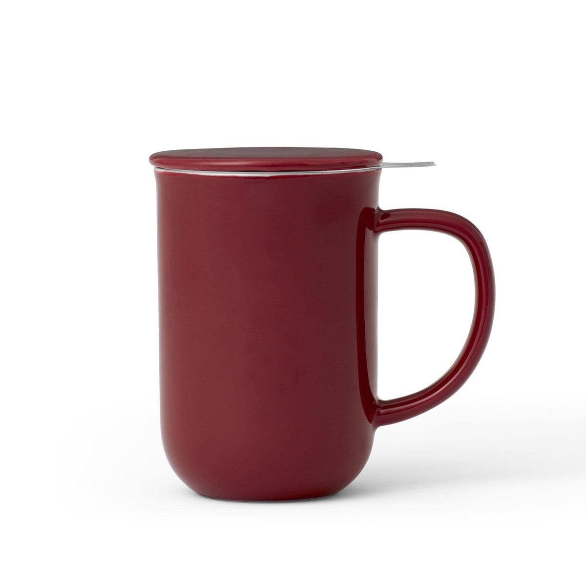 Minima™ Balance Tea Mug-VIVA Scandinavia | Color=cranberry