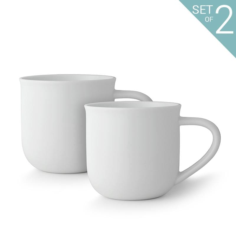 Minima™ Eva Mug - Set Of 2-VIVA Scandinavia | Color=pure white