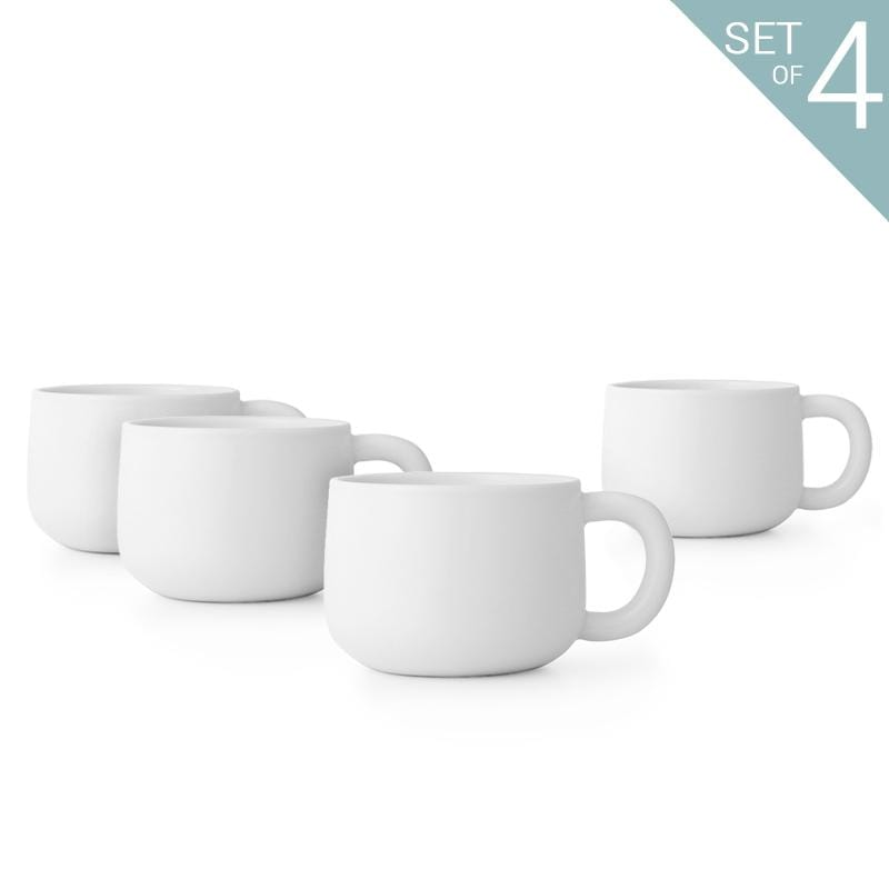 Isabella™ Tea Cup - Set Of 4-VIVA Scandinavia | Color=white