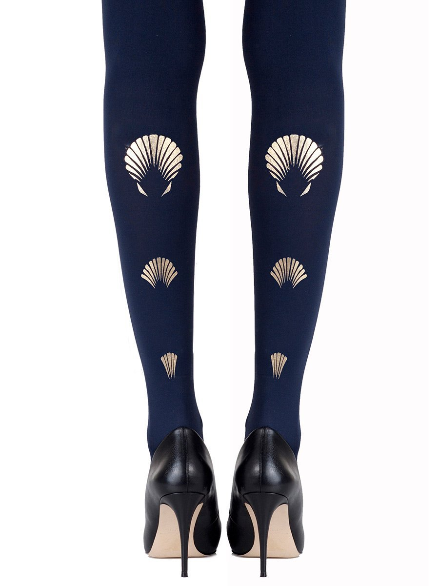 What The Shell Navy Tights