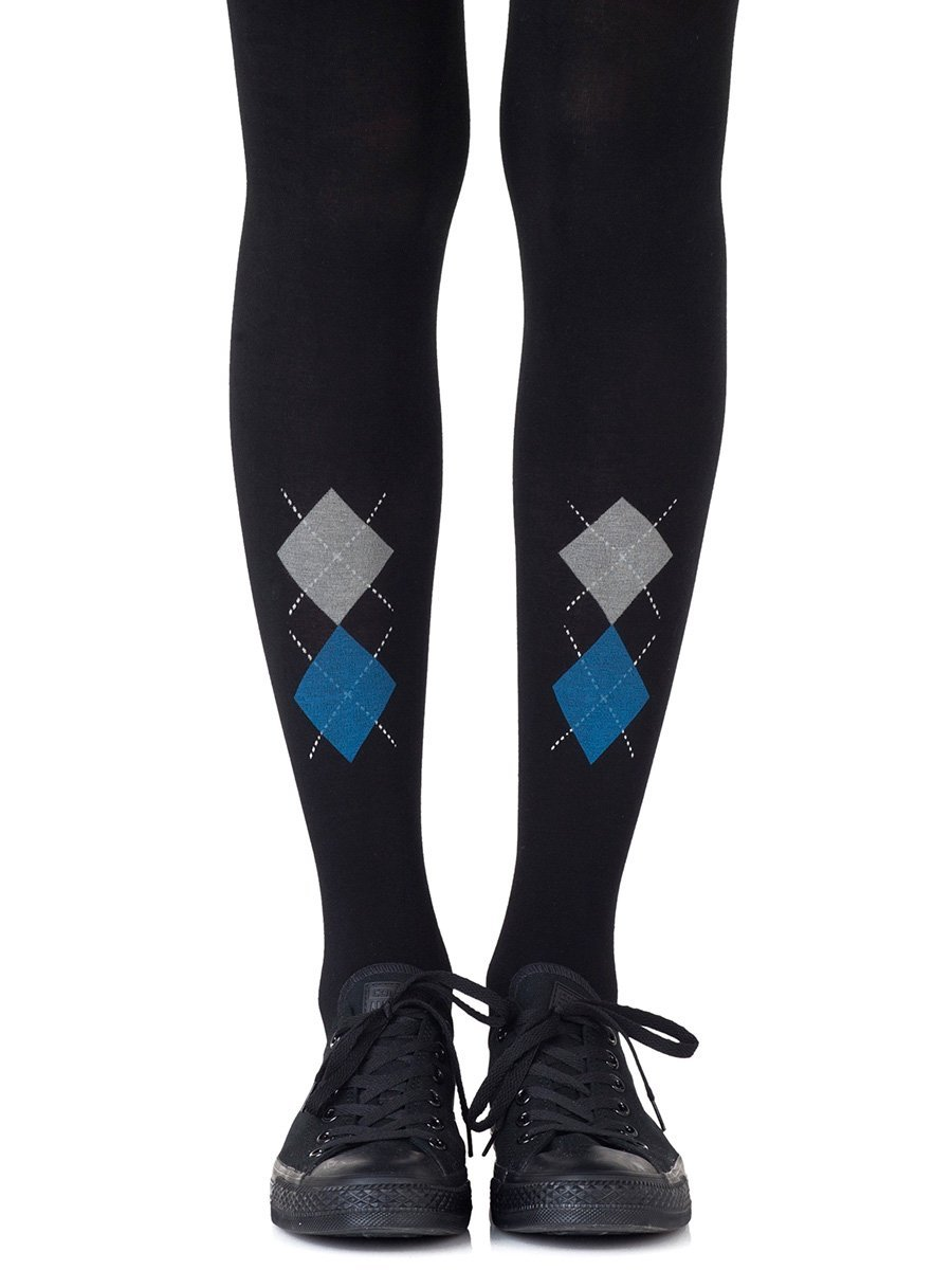 Ivy League Black Tights