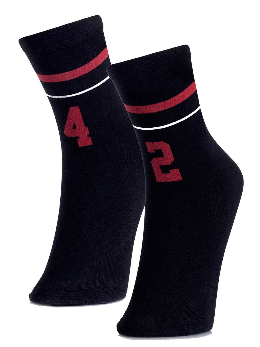 Numbers Game Ankle Socks