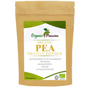 Raw Organic Pea Protein Powder