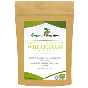Organic New Zealand Wheatgrass Powder