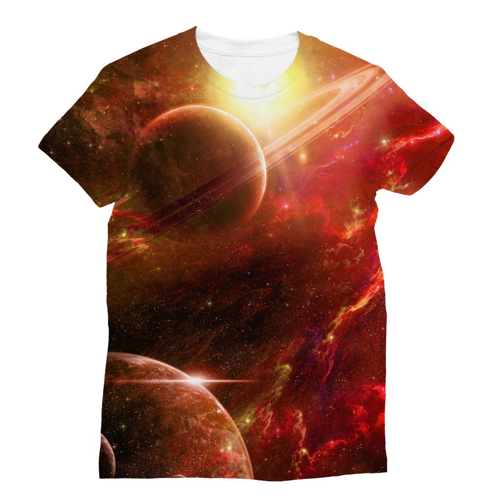 Red Galaxy Design