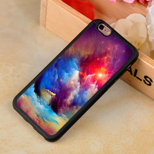 Fantasy Nebula Space Stars Universe Soft TPU Phone Case Coque For Fundas iPhone 6 6S Plus 7 7Plus 5 5S 5C SE 4S Back Shell Cover